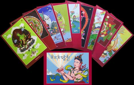 thangka cards set